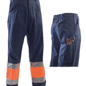 pantalone orange blue class 1 pant