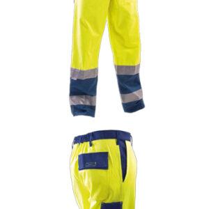 yellow blue pant
