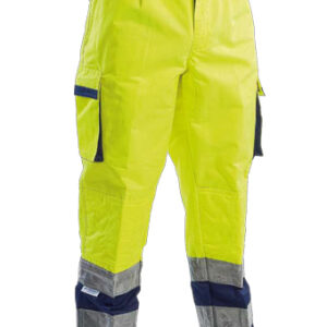 yellow blue protective pant