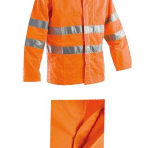 orange summer jacket
