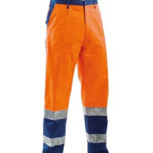 orange blue pant